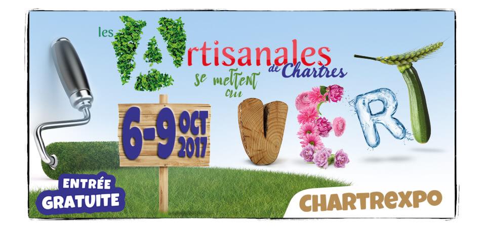 Le SICTOM aux Artisanales de Chartres 2017