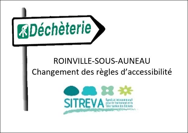 Déchèterie de Roinville /s Auneau