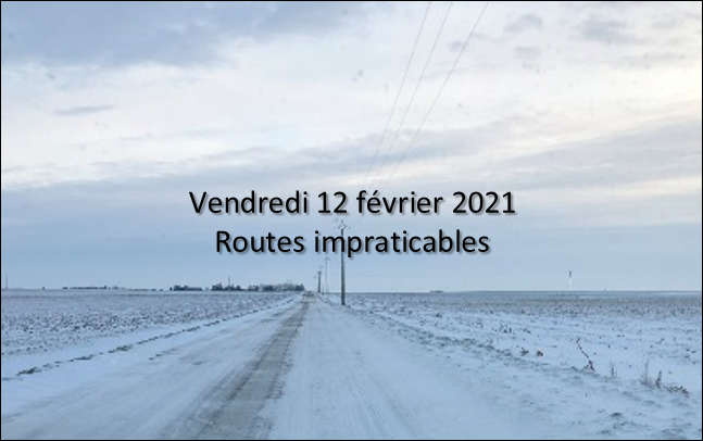 Routes inaccessibles