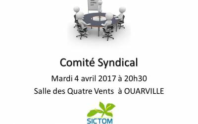 Comité syndical du 27 juin 2017